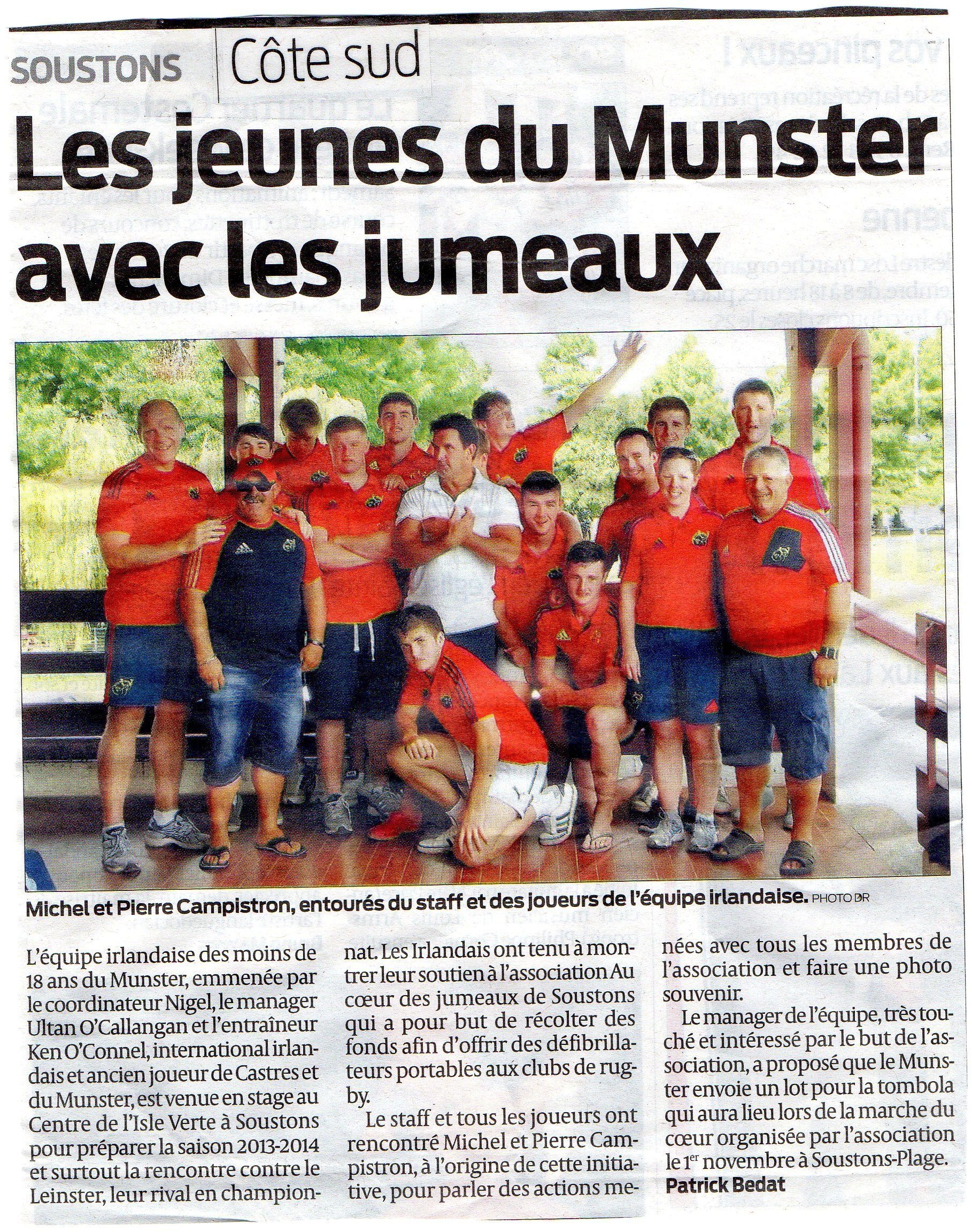 Annonce rencontre journal sud ouest